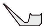 Vリング RMEシリーズ断面形状図